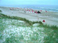 Alle Dänen lieben ihren Dannebrog - so heißt die dänische Nationalflagge, die einem wirklich ÜBERALL in Dänemark begegnet.