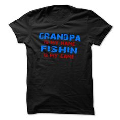 Nice T-shirts [Best TShirts] Grandpas My Name.. Fishing Is My Game shirt . (3Tshirts)  Design Description: Grandpas My Name.. Fishing Is My Game FUNNY Gift for Grandpa tee  If you do not utterly love this Shirt, you'll SEARCH your favourite one by way of the use o... -  #kayakers #outdoor - http://tshirttshirttshirts.com/whats-hot/best-tshirts-grandpas-my-name-fishing-is-my-game-shirt-3tshirts.html