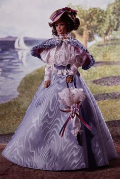 Great Eras Collection - Gibson Girl Barbie® Doll. My second collector Barbie Doll.