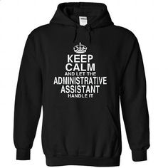 (KCS) Keep Calm And Let The AD.ASSISTANT Handle It! - #womens hoodie #sport shirts. ORDER NOW => https://www.sunfrog.com/Funny/Keep-Calm-And-Let-The-ADASSISTANT-Handle-It-9761-Black-30660827-Hoodie.html?id=60505