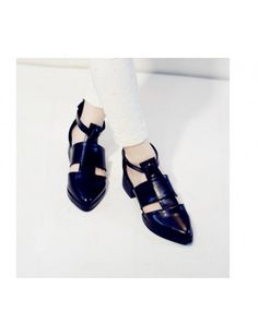 A Buckle Pointed Toe Vintage Women's Flats http://www.breakicetrends.com/a-buckle-pointed-toe-vintage-women's-flats-10289.html