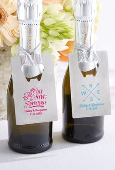Travel wedding favors are taken care of with Kate Aspen's Personalized Silver Credit Card Bottle Opener with Travel and Adventure designs! | Personalized Travel & Adventure Silver Credit Card Bottle Opener | My Wedding Favors | #bottleopener