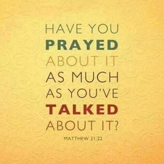 Keep Praying. Stay Calm. ;)