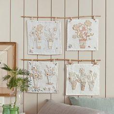 Des mouchoirs aux fleurs de dentelle