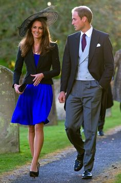 A few short weeks before they would create media waves with their big news, Middleton and Prince William attended Harry Meade and Rosie Bradford's wedding in October 2010.