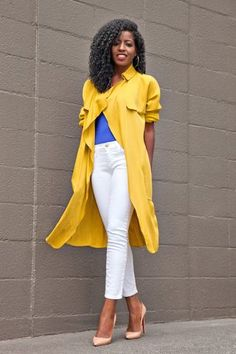 Trench Coat   Bodysuit   Ankle Jeans