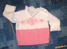 Pletený svetřík pro holčičky