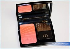 Dior Coral Twist Diorblush Colour Gradation Review, Swatches, Photos
