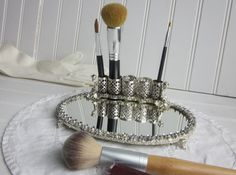 vintage cosmetic tray