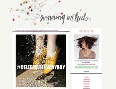 Blog - Running in Heels - design by Pinegate Road