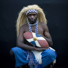 Africa |  Intore dancer - Rwanda | © Eric Lafforgue  http://www.sinaya.net