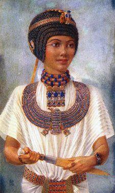 Zo zag Tutanchamon er uit volgens de Afrikaanse schilderes Winifred Brunton.
