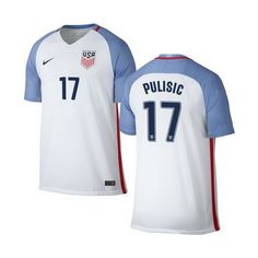 64e3c985b Christian Pulisic Home Youth Jersey 2016 USA Soccer Team Usa Soccer Team, Us  Soccer,