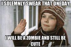 Cute Zombie - nicholas hoult, as a kid. Aww!! :)