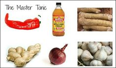 The Master Tonic is a must in the pantry for flu season or to take with you when traveling overseas.