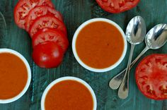 Fresh Tomato Soup :: Preserve and enjoy summer's freshest tomatoes with nourishing fresh tomato soup!