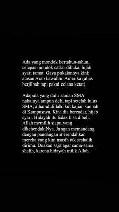 Islamic Quotes Wallpaper, Islamic Love Quotes, Muslim Quotes, Quran Quotes, Qoutes, Quotes Lockscreen, Cinta Quotes, Self Reminder, Quotes Indonesia