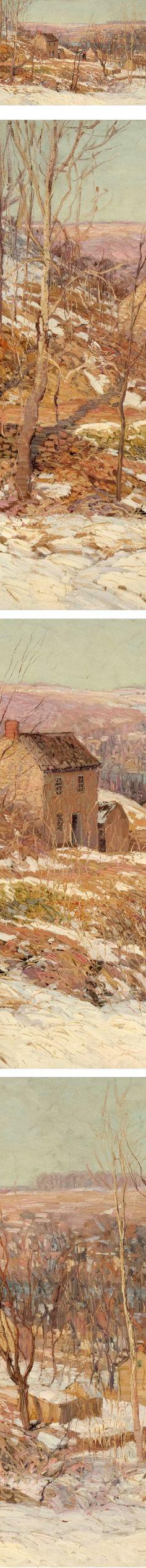 Winter in the Valley, Edward Willis Redfield