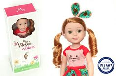 New AG doll just right for the little ones who are past the baby doll stage.