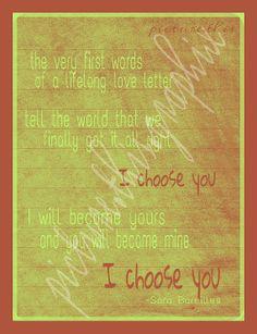 Celebrating Love :) - #CapeResortsWedding #NicoleMillerBridal #NicoleMillerJessicaDress #NicoleMillerCutTheCake #CongressHall #VirginiaHotel #BeachShack #IChooseYou #TrueLove #DreamWedding  #OnTheWayToCapeMay #CapeMayLove #ChrisNSarah #PickChrisNSarah #TrueLove #ThePerfectWedding - I Choose You-Sara Bareilles lyrics My favorite!