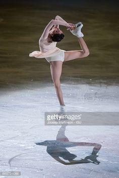 Evgenia Medvedeva of Russia performs in the gala...