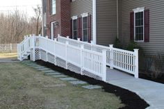 Aesthetically pleasing Wheelchair ramps to the front door - CareCure Forums