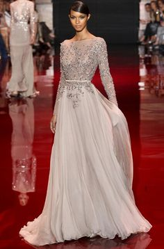 Elie Saab Haute Couture F/W 2013 - 2014 Red Carpet Gown? Let me know what you think