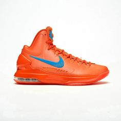 cf0898918ac7 Kevin durant shoes 2013 KD V Creamsicle Team Orange