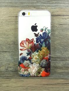 Floral Transparent iPhone 6 case 6 plus Flower Rose by ZealJay