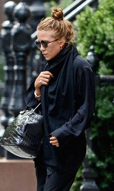 HAIR INSPIRATION: MARY-KATE | MESSY TOP KNOT