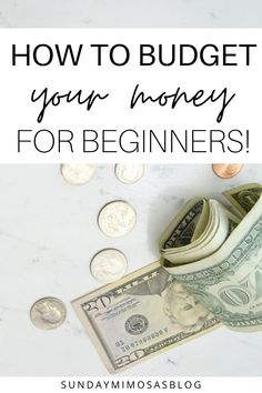 Want to learn how to budget your money like a pro so you can pay off debt faster, save money and achieve financial freedom? This step by step budgeting for beginners guide will walk you through how to budget your money on a low income. There's even a free budgeting printable for you to use to track all of your finances! #budget #savemoney #budgeting #money