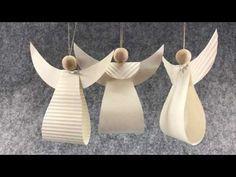Ekstra til videoen Engle i papir 56 Christmas Dyi Crafts, Christmas Angels, Kids Christmas, Christmas Paper, Diy And Crafts, Crafts For Kids, Angel Crafts, Newspaper Crafts, Diy Weihnachten