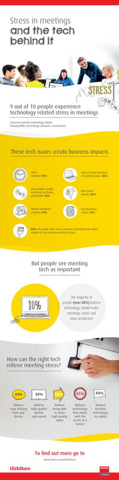 infographic #stress #meeting