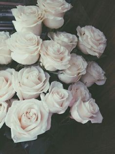 Imagem de rose, flowers, and white
