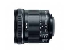 Amazon.com : Canon EF-S 10-18mm f/4.5-5.6 IS STM Lens : Camera & Photo  $268  The Wide-angle