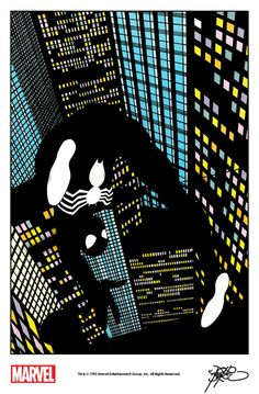 Spider-Man by John Byrne from The Amazing Spider-Man 30th Anniversary Poster Magazine (1992)