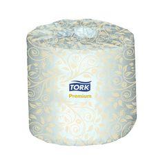 Code: 14106514 **Papier hygiénique en rouleau Tork Premium  SERV  TRK  PREMIUM  2-ÃPAISS EURS  460 CT.  4'' X
