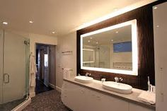 Image result for mirror led light bathroom