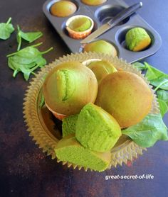 Spinach Banana Muffin - breakfast, snack recipe - Eggless baking recipe - Kids friendly recipe - Great Secret Of Life, Biryani Recipe, One Pot Meal Healthy Food Recipes, Eggless Recipes, Eggless Baking, Almond Recipes, Baby Food Recipes, Healthy Meals, Baking Recipes, Snack Recipes, Cake Recipes