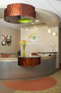 Post Falls Optometric Physicians by Crystal Hooker, via Behance