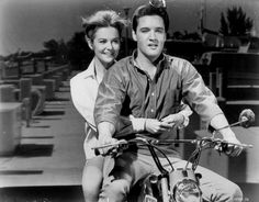 Elvis Presley with Shelley Fabares    Girl Happy