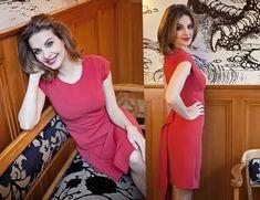 Fall Winter, Autumn, High Neck Dress, Formal Dresses, Creative, Red, Fashion, Turtleneck Dress, Dresses For Formal