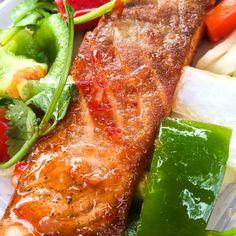 Sweet Chilly Salmon @ St Katherine Docks (Street food)