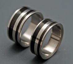 Strong and Svelte | Titanium Rings | Minter + Richter