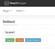 ReachBlogger: Serwis na ma celu łączenie zleceniodawców chcących pozyskać wzmianki na temat marki w blogosferze z blogerami, którzy chcą odpłatnie udostępnić przestrzeń na swoim blogu i napisać wpis poświęcony danemu produktowi. #blogerzy #blog #marketing #narzedzia