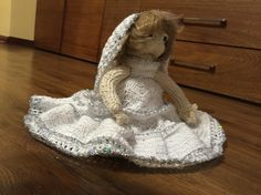 novia a crochet