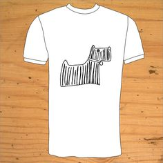 West Highland Terrier TShirt by snolbertogoster on Etsy, $19.00