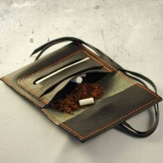 MINI Tobacco pouch Black Mamba Leather Tobacco Pouch, Leather Pouch, Smoking Cigarettes Effects, Tobacco Basket, Giving Up Smoking, Black Mamba, Natural Leather, Leather Working, Leather Craft