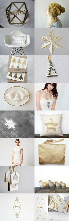 Shimmering Christmas by Vickie Moore on Etsy--Pinned with TreasuryPin.com