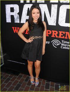 Cierra Ramirez at the 'Lone Ranger' Premiere
